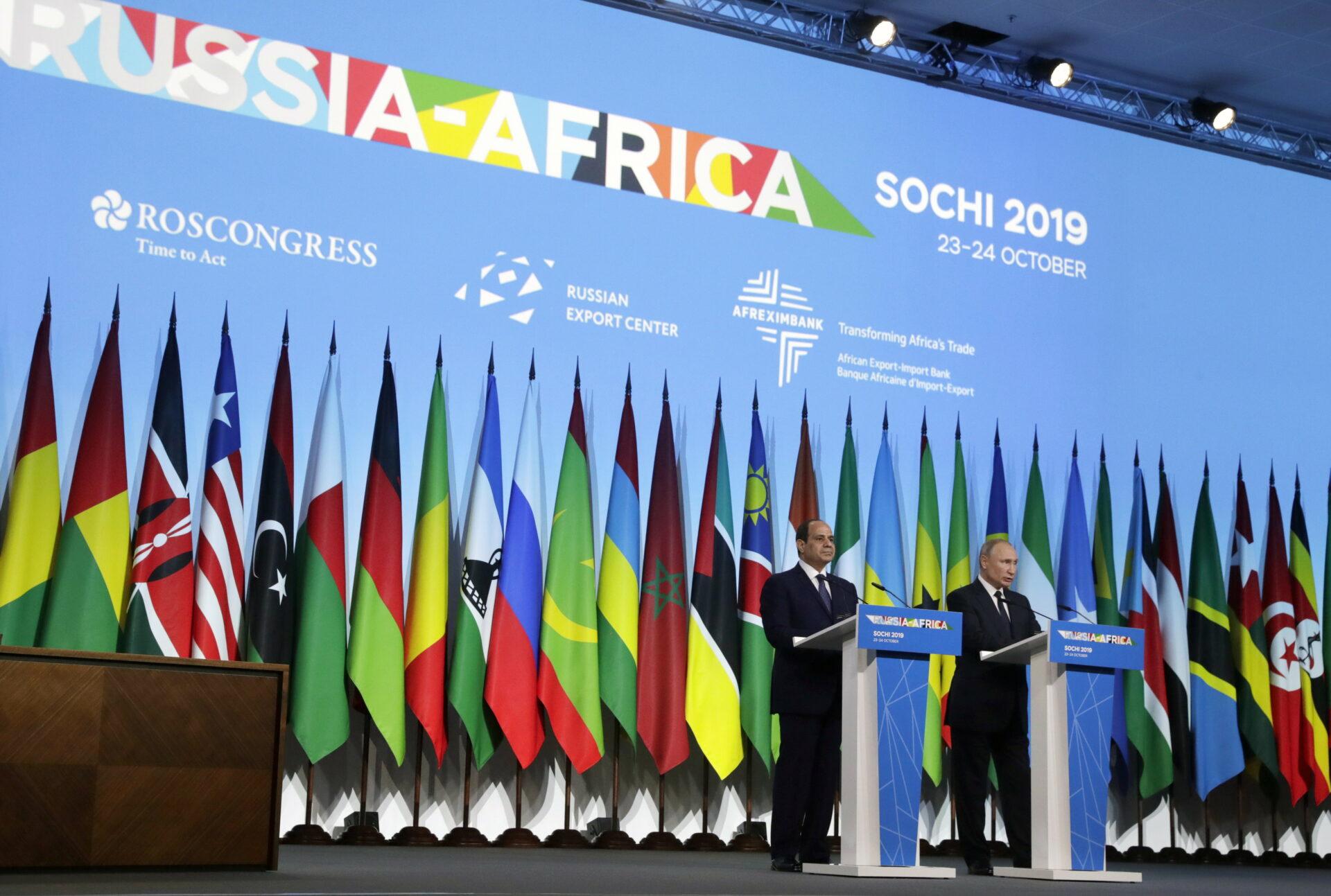 Sommet-Russie -Afrique - Jeunes UE-UA